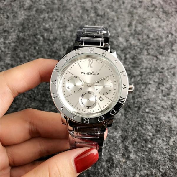 2019 nuova Pandora orologio al quarzo top brand di moda casual orologio orologio da uomo da 40 mm di orologi di lusso e moda femminile
