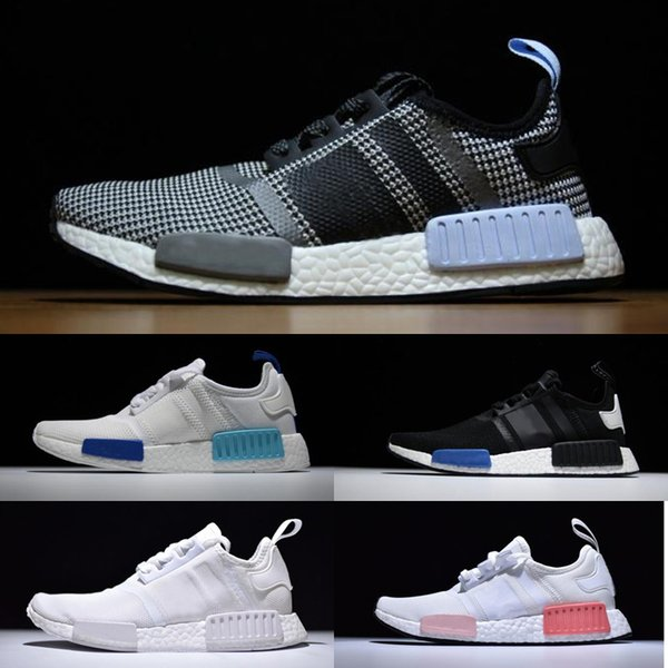 59b3f0e1adc96 2019 new NMD R1 OREO Runner NBHD Primeknit OG Triple black White camo  Running shoes For
