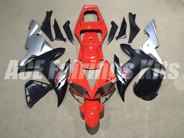 3 gifts High quality New ABS motorcycle fairings fit for YAMAHA YZF-R1 2002 2003 R1 02 03 YZF1000 fairing kits custom red black silver