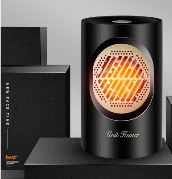Lufterhitzer Mini Warmluftgebläse 220V 400W Touch Screen elektrische Heizung tragbar Mini-Haus Personal Space-Wärmer für Innenbüro Winter-