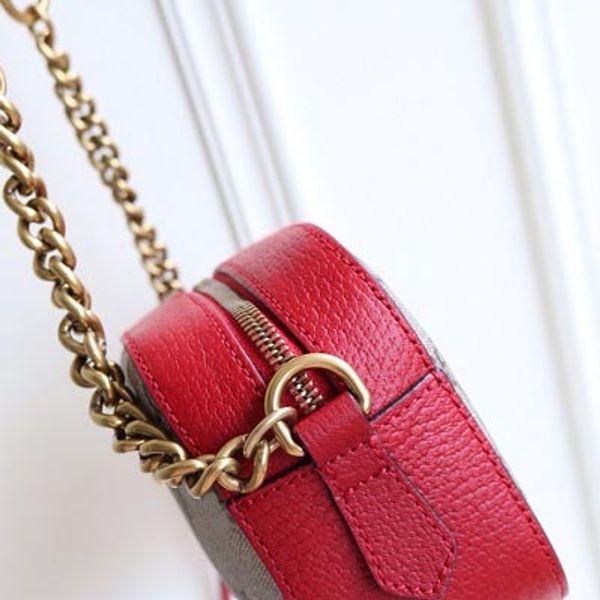 cuir rouge + toile