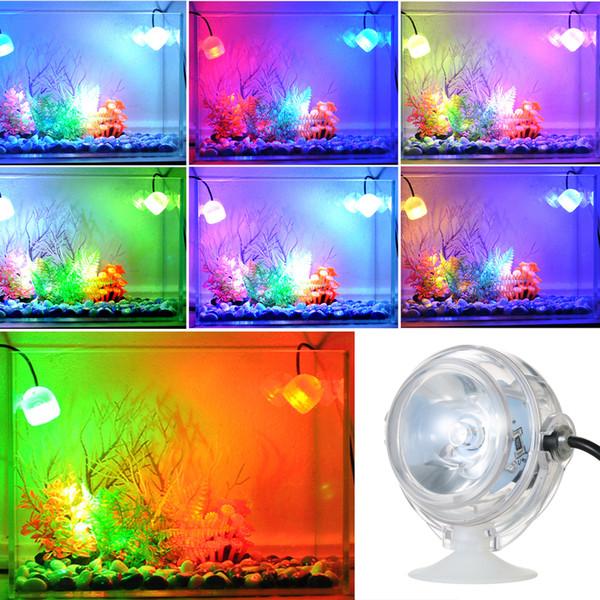 5V acquario colorato illuminazione a LED impermeabile sommergibile a LED per acquario serbatoio di pesce lampada di illuminazione elettronica subacquea Stati Uniti