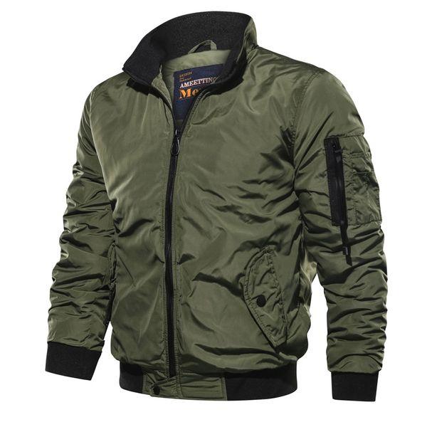 Army Fly Pilot Jacket Airborne Flight Tactical Bomber Jacket Men Winter Warm Motorcycle Coat Size 5XL