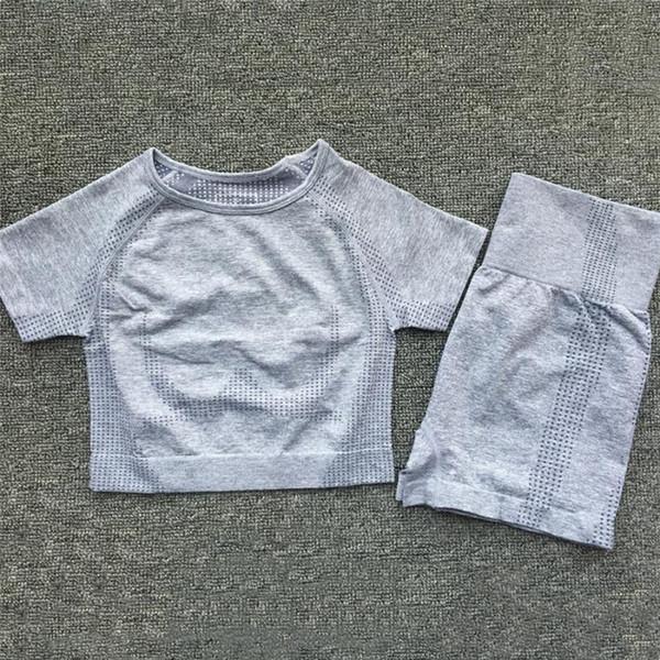 Gray Short Suit