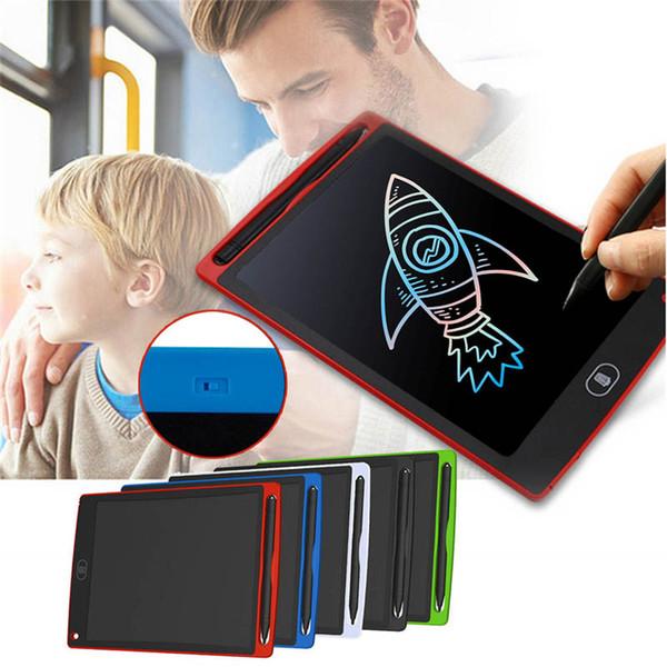 8,5 pollici ruvido scrittura a mano colorata tavoletta LCD portatile elettronico Notepad Disegno Grafica Pad Lavagna con il tasto della batteria