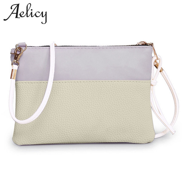 Cheap Fashion Aelicy Fashion Women PU Leather Handbag Shoulder Bag Large Tote Ladies Purse bolsa feminina Famous Brands Design Women Bag