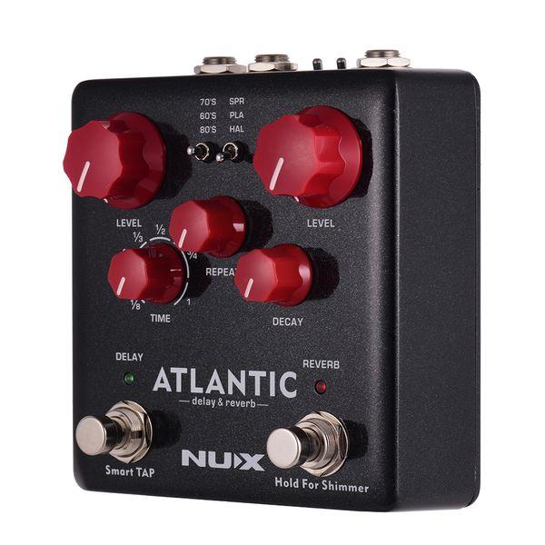 2019 NUX Verdugo Series Guitar Multi Effect Pedal Amp Simulator Delay  Reverb Booster Kompressor Acoustic Preamp DI Guitar Accessories From