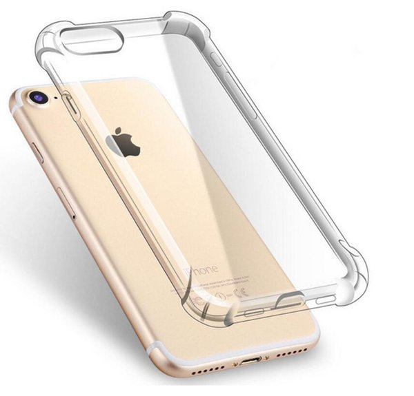 Ultra dünner klarer transparenter tpu silikon case für iphone xs max xr 6 7 6 s plus schützen gummi telefon case für iphone 8 7 plus