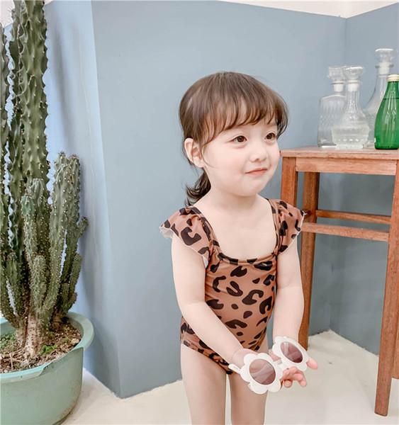 2019 nuova stampa leopardata Costumi da bagno per bambini Costumi interi per bambini Costumi da bagno per bambini Costumi da bagno per bambini Costumi da bagno per bambini Costumi da bagno per bambini A4332