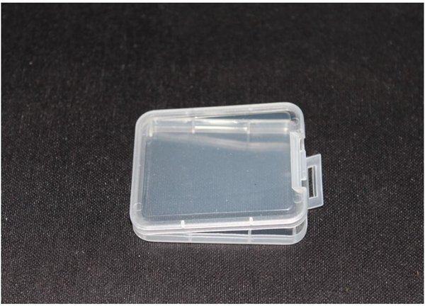 Small Box Protection Case Card Container Memory Card Boxs Tool Plastic Transparent Storage Easy To Carry Practical Reuse
