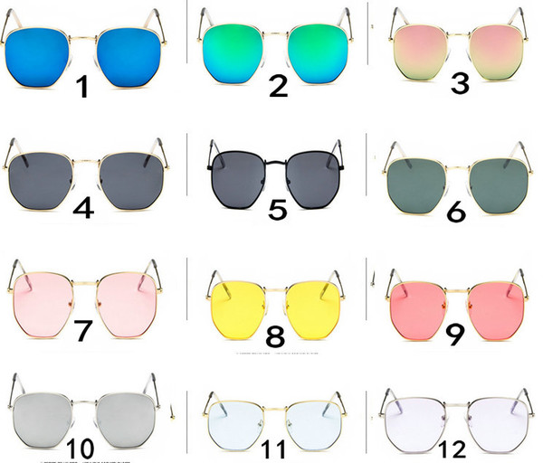 (MADE IN CHINA)New Arrival 12 Colors can choose New Fashion Small square sunglasses For Lady sport sunglass Outdoor cycling sun glasses .