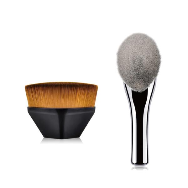 Süper Büyük Pudra Fırçası Yumuşak Kabarık Yüz Gevşek Mineral Vakfı Makyaj Fırça makyaj fırçalar yıkayabilirsiniz en iyi vakıf fırça