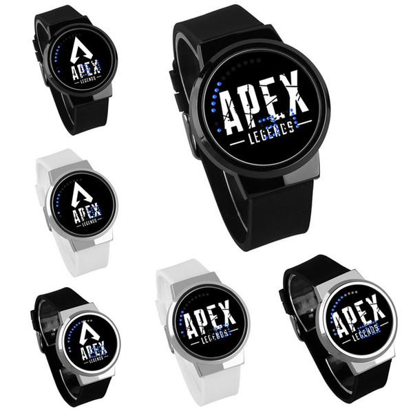 Las leyendas de Apex Boys Watch Impermeable Led Pantalla Táctil de Muñeca Relojes de Dibujos Animados Niños juguetes Cumpleaños regalo de navidad MMA1548