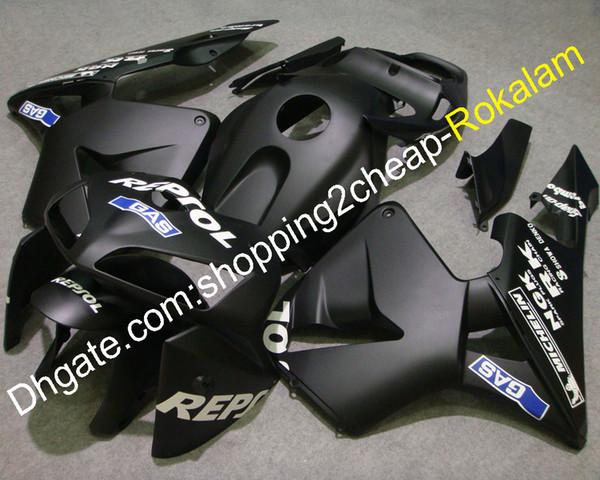 Fairing For Honda CBR600RR F5 2005 2006 Matte Black Cowlings CBR 600RR 05 06 CBR600 RR Motorcycle Fairings (Injection molding)