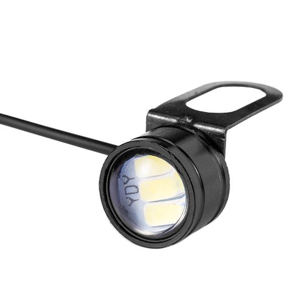 10 adet Eagle Eye LED 22mm Şahin Göz DRL Gündüz Farları Ters Yedekleme Sinyal Işık Ampüller için Sis Lambası Motosiklet Oto Araba