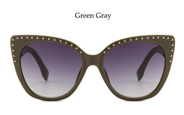 Lenses Color:green gray