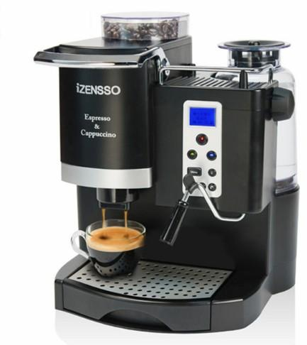 20BAR Italy-type Automatic Espresso Coffee Machine Maker with Bean Grinder and Milk Frother 1 Year Warranty Including LLFA