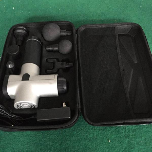 Producto de lujo portátil de mano inalámbrico percusión corporal Massager de la máquina sin escobillas Massager armas