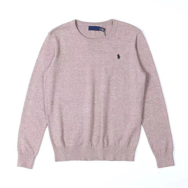 2019 New Selling Ralph Autumn Winter Lauren Mens Sweater Luxury Men Designer Sweater Pony Slim Polo Shirt Outdoor Casual Windproof Warm Sweater From