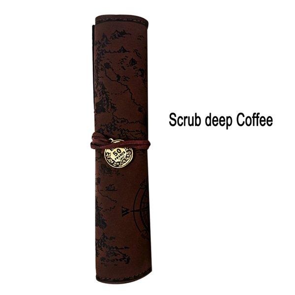 Scrub café profundo