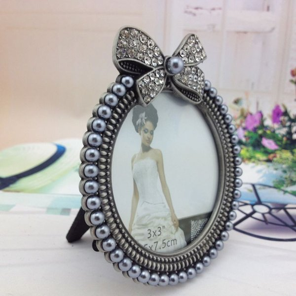 picture frames Europe style Frame Photo Picture Frames Round on Table Home Decoation WZJ017