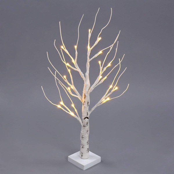 Desk Lighted Tree Light, Decorative Flexible Creative Light, Perfect For  Home Festival Party Wedding, Indoor & Outdoor Decoratio Christmas Decorated  ...