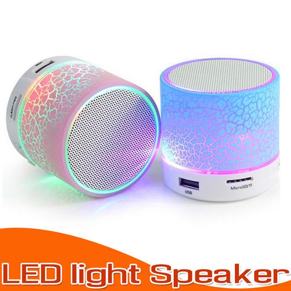 Haut-parleur Bluetooth A9 Stéréo Mini Haut-parleurs TF USB FM Sans fil Portable Musique Boîte à musique Subwoofer Haut-parleurs Pour téléphone PC avec Micro