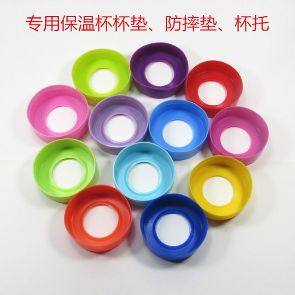 Protective Cover Bottom Silicone Rubber Bottom Sleeve Coasters Mug Cup Mat