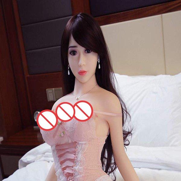poupée petite poitrine douce, poupée en silicone semi-solide gonflable adapté pour les hommes adultes comme des jouets sexuels