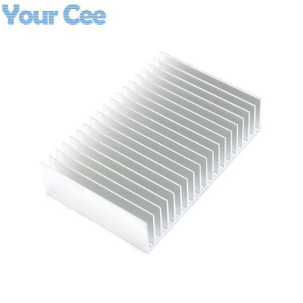 Freeshipping 1 pc 180*120*44.5mm Heatsink Cooling Fin Aluminum Radiator Cooler Heat Sink for LED, Power IC Transistor, Module 180*120*44.5mm