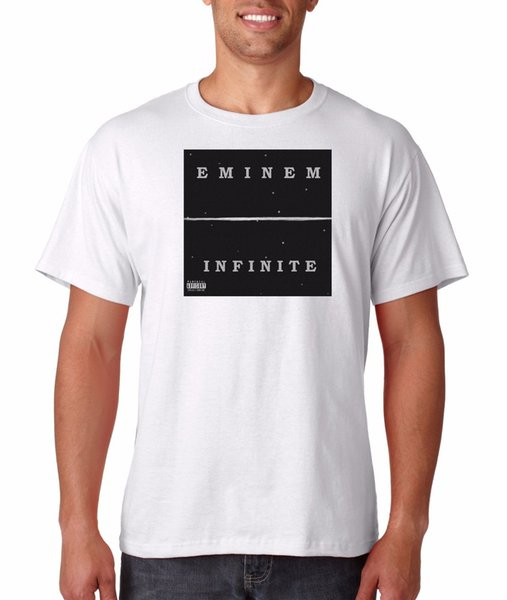 Eminem Infinite Camiseta Vintage Hip Hop Detroit Rap Tee Slim Shady Revival  Nuevo envío gratis Unisex Casual top 1cb39421262