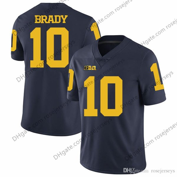 10 Tom Brady Navy Blue