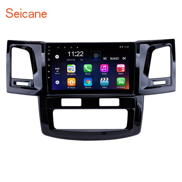 9 Inch Android 7.1 Car Radio GPS Navigation For 2008-2014 Toyota Fortuner Hilux with WIFI music Bluetooth USB support DVR SWC 3G