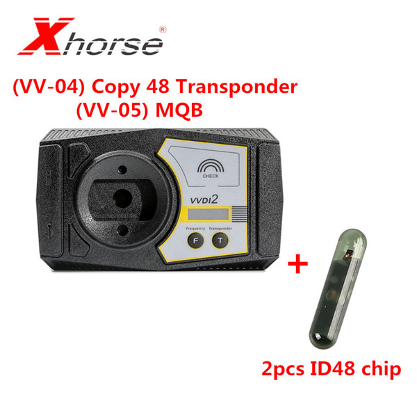 (VV-04) Copy 48 Transponder (96 bit) Authorization Function Get Free (VV-05) For MQB immobilizer function and 2PCS ID48 Chip