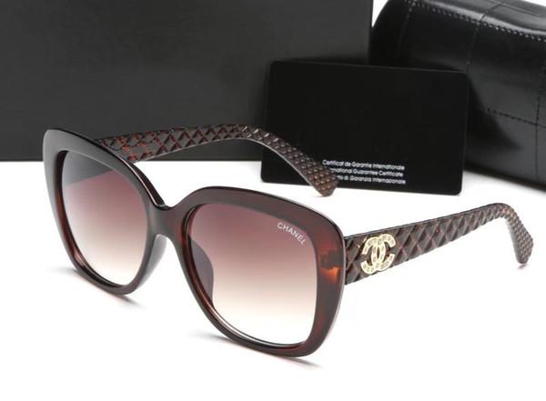 Occhiali da sole di marca di moda da uomo e da donna di design vintage occhiali da sole quadrati telaio di qualità buona confezione originale della scatola