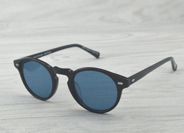 schwarz / blau