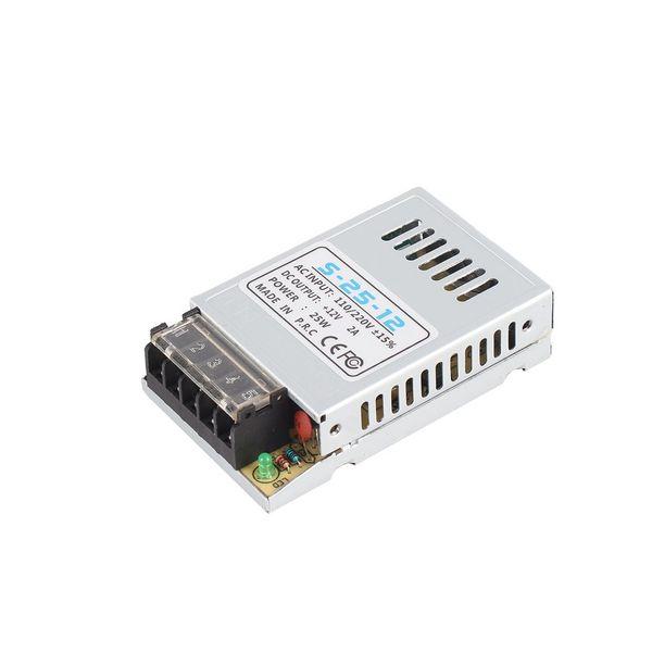 Universal AC to DC Switching Power Supply 12V 2A 24W Portable Ultra-thin LED Light Driver Input 110V/220V S-24-12