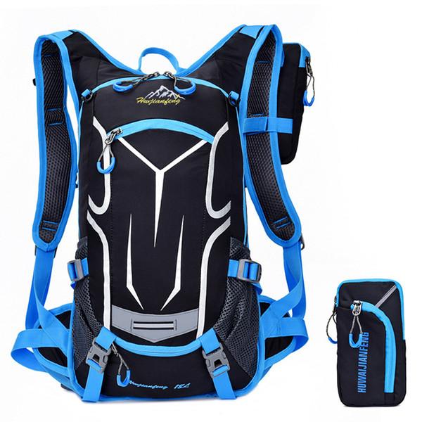 Fashion Large Capacity Riding Backpack Breathable Wear Resistant Outdoor Traveling Bag Mult-function Basketball Helmet Pocket Bag Unisex Bag