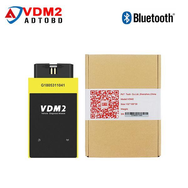 New UCANDAS VDM2 Full system V5.2 Bluetooth/Wifi OBD2 VDM II for Android 2 OBDII Code Scanner PK easydiag Update Free ship