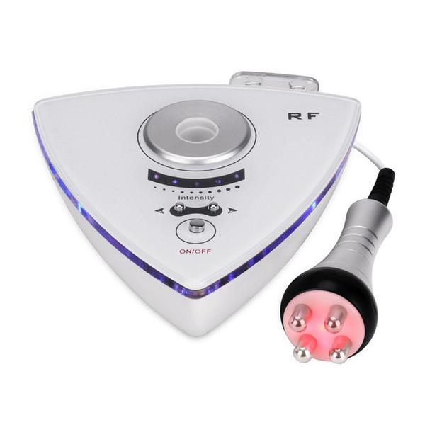 Alta freqüência RF anti-rugas levantamento facial máquina de beleza tripolar radiofreqüência pele peeling beleza máquina de levantamento de rosto