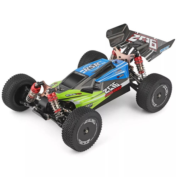 best selling Wltoys 144001 1 14 2.4G 4WD High Speed Racing RC Car Vehicle Models 60km h RC Car 550 Motor RC Off-Road Car RTR T200115