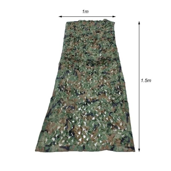 1.5*1m outdoor camouflage net tactical army camo netting car covers tent hunting blinds netting cover conceal drop net thumbnail