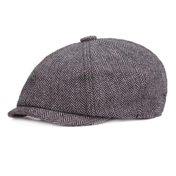 Cappello da pittore maschile e femminile di berretto di cotone di alta qualità del 2019 s, cappello da strillone europeo ed americano
