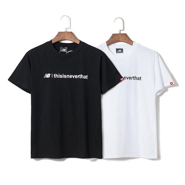 T shirt men women unisex 2019 new arrival summer anchor letter print loose large short-sleeved women's t-shirt summer tshirt vestidos