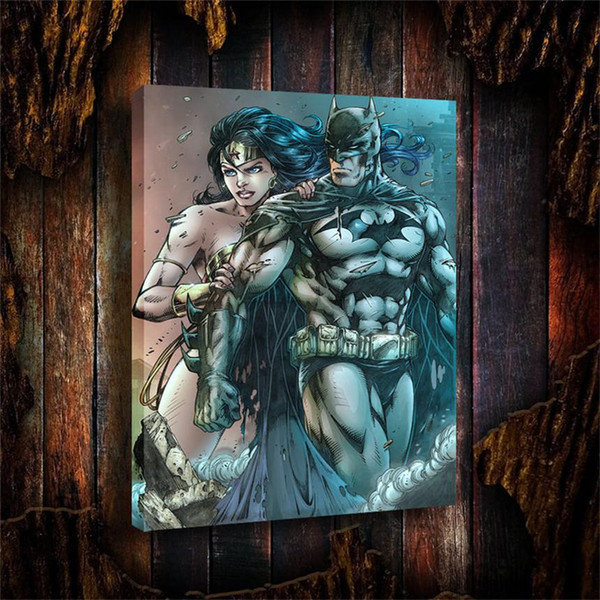 Wonder Woman,HD Print on Canvas Painting Home Decoration Wall Art 18x24INCH