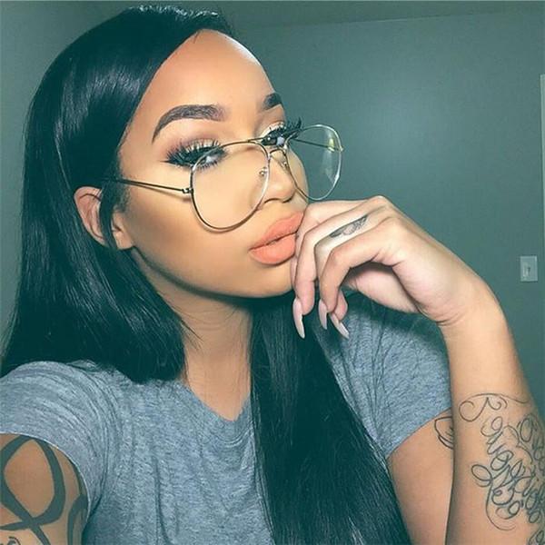 6 estilos Marca Eyewear Acessórios Óculos Claros Mulheres Espetáculo Lente Transparente Óculos Homens Retro Eye Glasses Frames bldz001