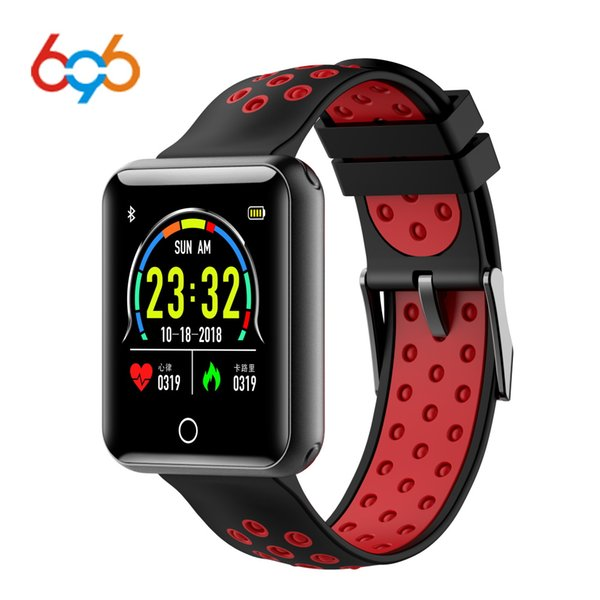 696 Q18 Smart Bracelet Pedometer Heart Rate Fitness Tracker IP68 Waterproof Wristband Sport Band