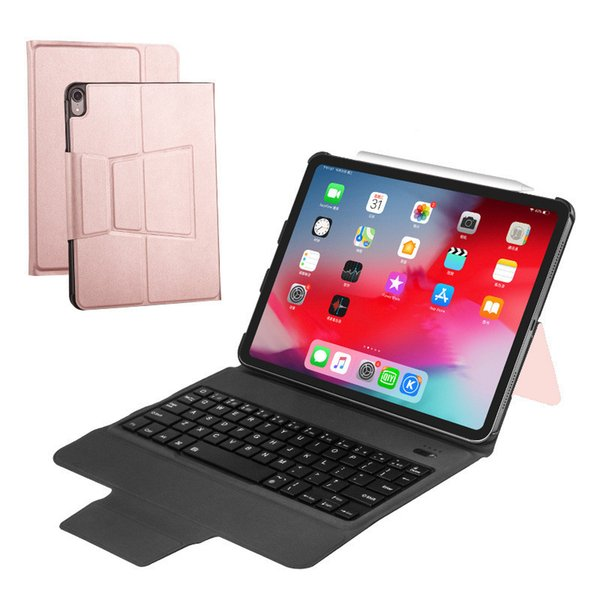IPad Pro 129-Inch Flat Screen Computer Ultra-Thin Bluetooth Keyboard Protective Bluetooth Leather Cover 2019 New Style