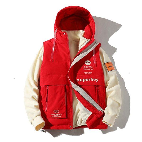 -Jacket Red Vest