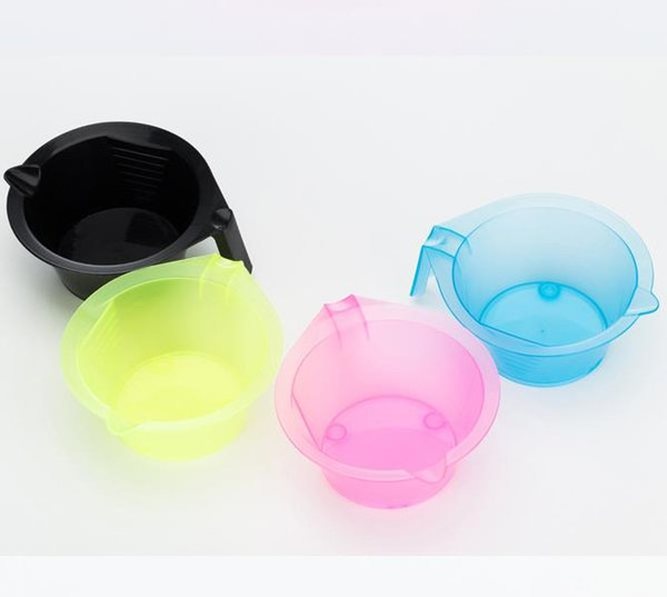 Hair Color Mixing Bowl Set Salon Hair Color Bowl Mixing Plastic Suction Cup Coloring Styling Tools Two-piece set
